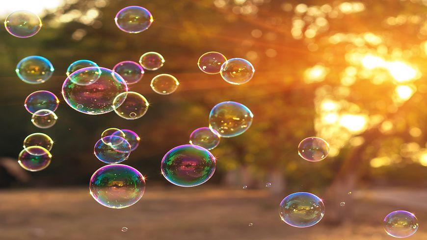 انجام آزمایش حباب ساز